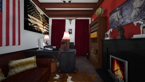 Western Themed Office - Office - by SammyJPili