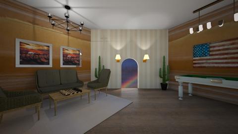 game room - Living room - by natliner