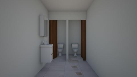 casa remozamiento  - Bathroom - by wuayman