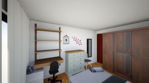 dormitorio grande2 - Eclectic - Bedroom - by Diana Dato
