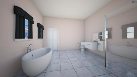 Pink bathroom - Bathroom - by OUAT_N01