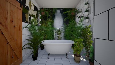 Urban Jungle Bathroom - Bathroom - by SammyJPili