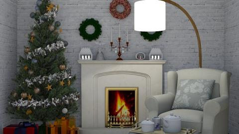 Christmas corner - by nonanymous_