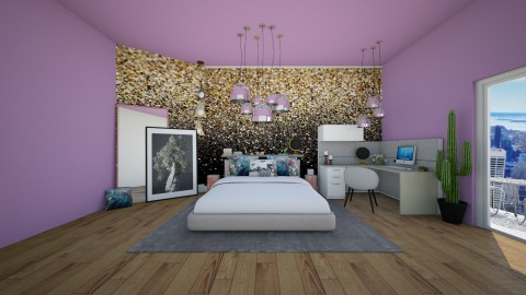 The New Yorker - Modern - Bedroom - by Bao Tran