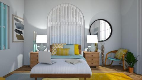 beach  hotel 1207 - Modern - Bedroom - by alina02