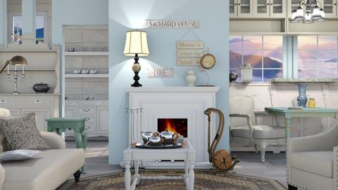 Grandma Is Home - Classic - Living room - by Jessica Fox