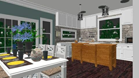 Contemporary Kitchen - Kitchen - by crobinson325