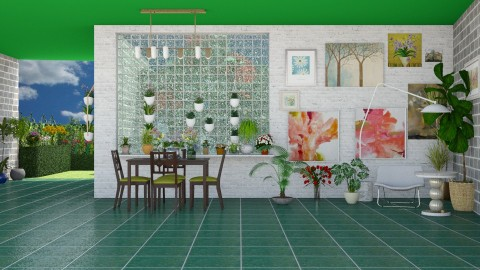 Spring is Coming  - Modern - Dining room - by InteriorDesigner111