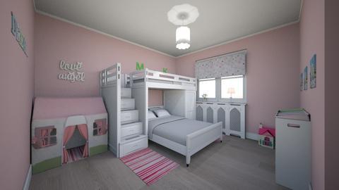 Girls bedroom - Kids room - by FEARLESS