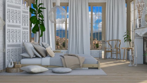 Neutral  - Classic - Bedroom - by Kathran