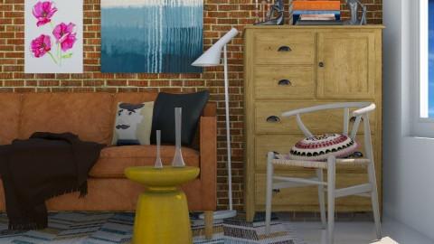 R3 - Modern - Living room - by Karim Mahfouz