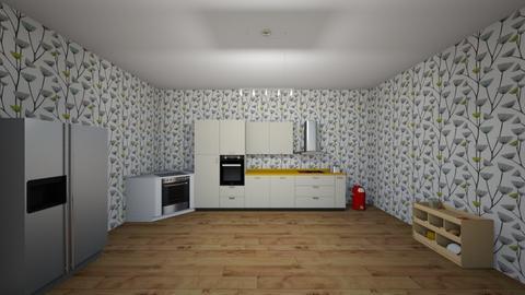 Open kitchen - Kitchen - by emmanuella8122005