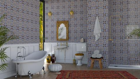 Moroccan Bath - Bedroom - by lovedsign
