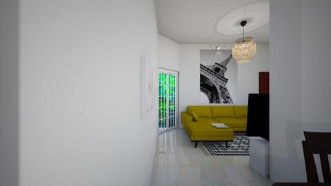 Small Living View 3 - Living room - by Sally Haridi
