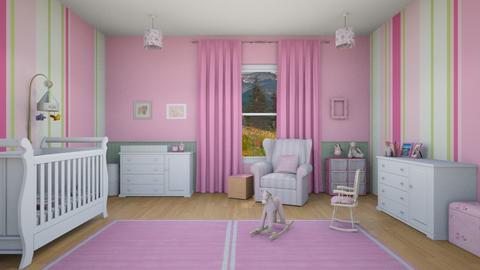 Girl Nursery - Kids room - by Tzed Design