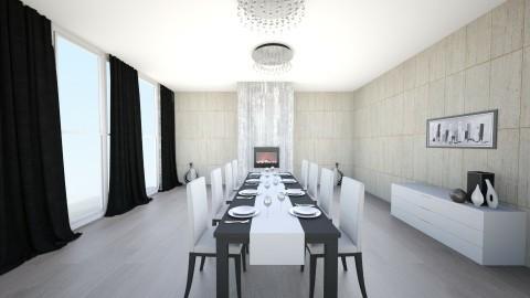 dining room - by yusraq1113