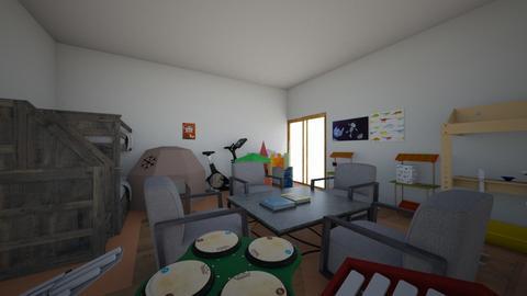 karol - Kids room - by katwie