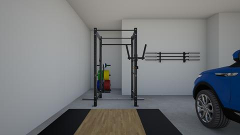 Garage gym - by rogue_7f98e3c7be4b9ee63c5e630f34d16