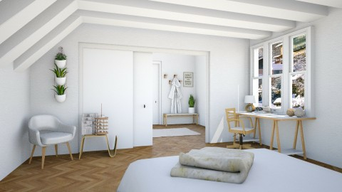 Renovated - Bedroom - by Cailyn V