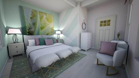 Chevron Room - Bedroom - by PenAndPaper