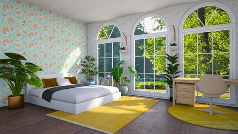 Eclectic Bedroom - Bedroom - by Louise Hedlund