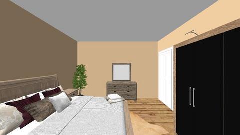 Neutral bedroom - Bedroom - by EllaNaznin