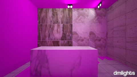 WHITE MARBLE - Bathroom - by DMLights-user-1133665