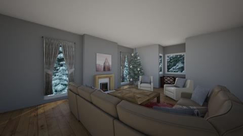 Winter Sitting - Living room - by Designs by Hailey