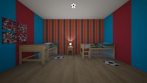 Aaron - Bedroom - by jesspeters
