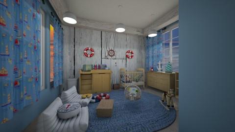 nautical nursery - Rustic - Kids room - by kla