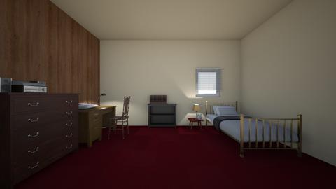 Home 1985 - Bedroom - by WestVirginiaRebel