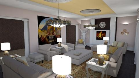 Formal Living Room - Glamour - Living room - by alonatech_2nd