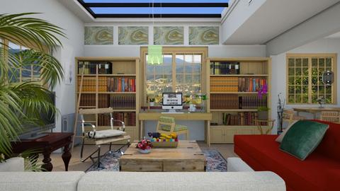 Indoor outdoor feeling  - Country - Living room - by The quiet designer