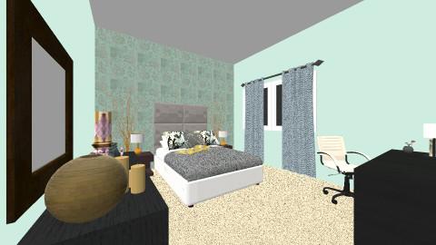 new room - Bedroom - by kirissa