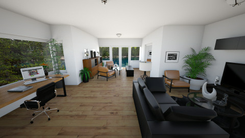 Simple - Living room - by OnceInALifetime