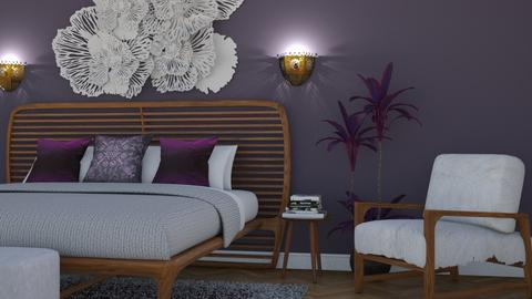Modern Boho II - Eclectic - Bedroom - by Theadora