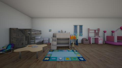 the room - Kids room - by GBNB