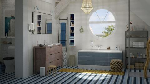 modern coastal - Bathroom - by marinmarin