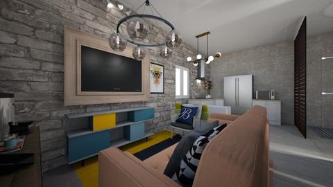 kitnat bregina - Living room - by Bregina Reg