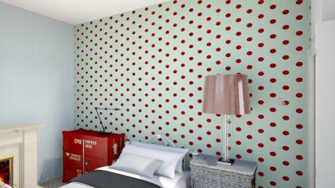 bedroom1 - Vintage - Kids room - by jfurstner