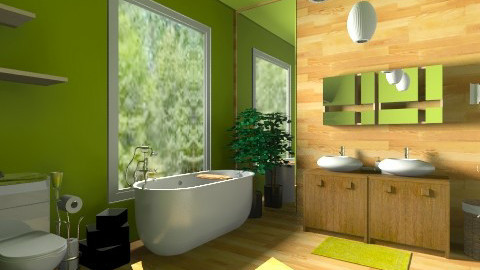 natural bath - Bathroom - by noosah omar