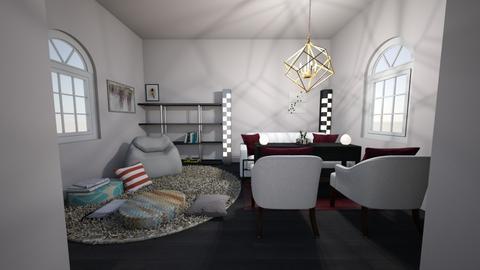 Living room - Modern - Living room - by CatsFurLife