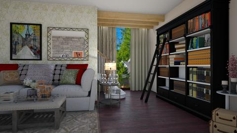 Townhouse Living - Living room - by paluvica