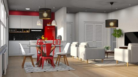 Expat Appartement - Living room - by AmberLV13