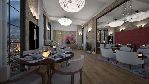 Etterem - by bsk Interiordesign