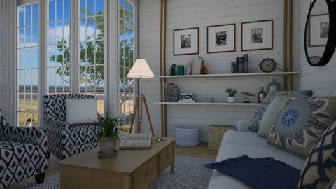 Cottage nook - Living room - by Tuitsi