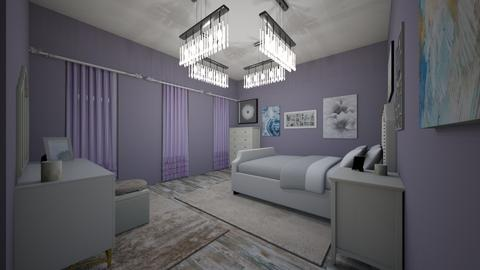 Purple - Feminine - Bedroom - by Nik_Laurayne