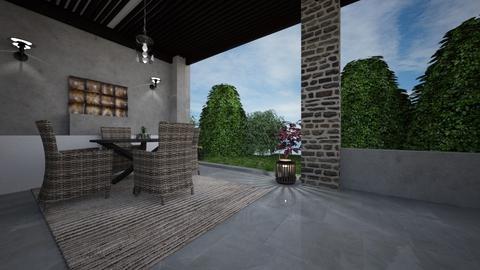 Classic modern 1 - Garden - by Alyce Design concept