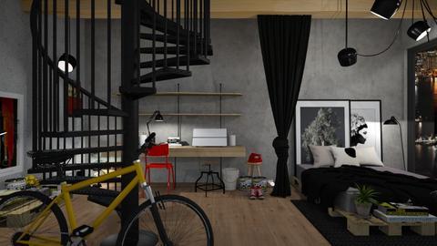 Studio  - Living room - by DaniPana
