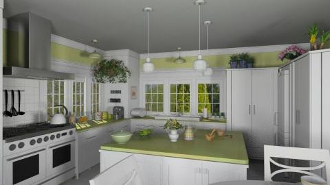 Kitchen for Martha - Classic - Kitchen - by Bibiche